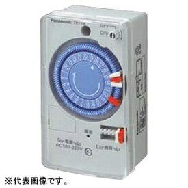 パナソニック 24時間式タイムスイッチ ボックス型 クォーツモータ式 AC100-220V用 同一回路 TB11N