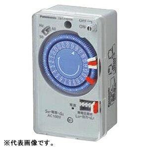 パナソニック 24時間式タイムスイッチ ボックス型 交流モータ式 AC100V用 同一回路 TB171N