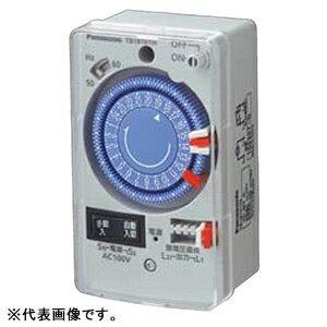 パナソニック 24時間式タイムスイッチ ボックス型 交流モータ式 AC100V用 同一回路 手動連続ONスイッチ付 TB181N