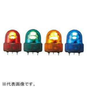 パトライト LED小型回転灯 《パトライト》 定格電圧DC12V φ118mm 赤 SKHE-12-R