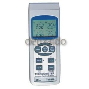 FUSO 4chデータロガー温度計 TM-946