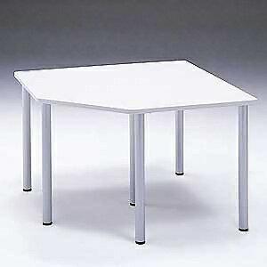 【受注生産品】 サンワサプライ コーナーテーブル W1300×D1300mm 連結金具2個付 MEA-CT9