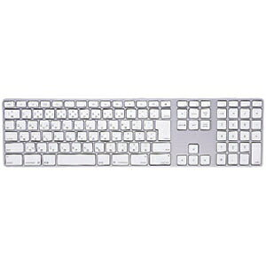 サンワサプライ キーボード防塵カバー 〔Apple iMac(Mid 2007)・Apple Keyboard(JIS)用〕 T-ポリウレタン製 クリアタイプ FA-TMAC1