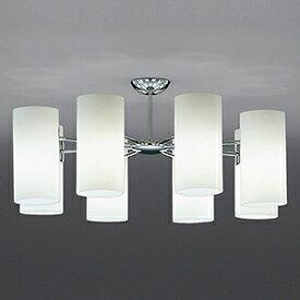 山田照明 LEDランプ交換型シャンデリア 〜6畳用 白熱320W相当 非調光 LED電球5.2W×8 電球色 E17口金 ランプ付 CD-4323-L