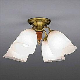 山田照明 LEDランプ交換型シャンデリア 〜6畳用 非調光 LED電球7.8W×4 電球色 E26口金 ランプ付 CD-4330-L