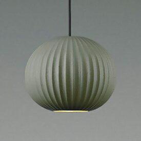 コイズミ照明 LED一体型ペンダントライト 《Bisque》 フランジタイプ 8.4W 白熱球40W相当 調光タイプ 電球色 セード:陶器・チャコールグレー AP43527L
