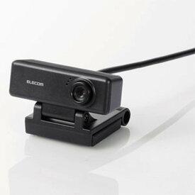 ELECOM Webカメラ 100万画素 ワイド画面HD対応 一発接続タイプ 内蔵マイク搭載 UCAM-C310FBBK