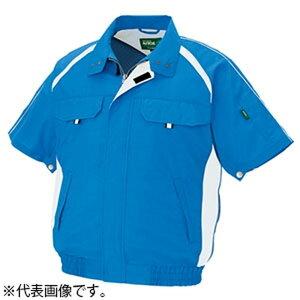 アイトス 空調服™ 《エコワーカーモデル》 半袖ブルゾンタイプ 5Lサイズ シルバーグレー AZ-1798-003-5L