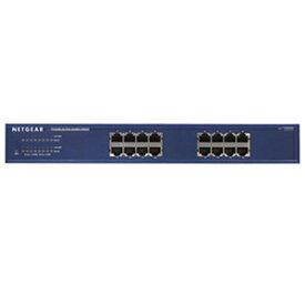 ネットギア アンマネージスイッチ ギガビット16ポート レイヤー2 ラックマウントキット付 JGS516-300JPS