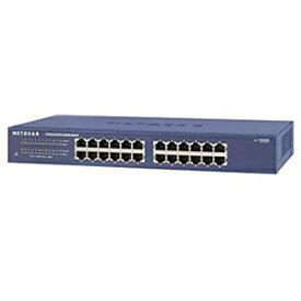 ネットギア アンマネージスイッチ ギガビット24ポート レイヤー2 ラックマウントキット付 JGS524-300JPS