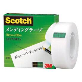 スリーエムジャパン 《スコッチ》 メンディングテープ 18mm×30m 810-1-18