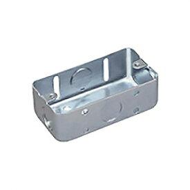 パナソニック 【ケース販売特価 100個セット】鋼板製スイッチボックス 1コ用 電気亜鉛めっき DS4811K_set