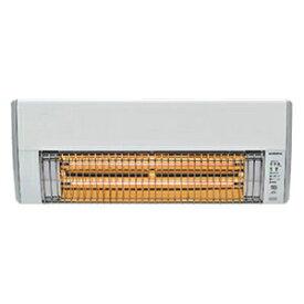 コロナ 壁掛型遠赤外線暖房機 カーボンヒーター 《ウォールヒート》 適用面積〜1.5坪 2段階(強/弱)切換 生活防水型リモコン付 CHK-C126A(W)