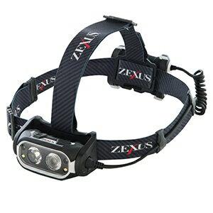 冨士灯器 LEDヘッドライト 充電式ブーストモデル 防噴流形IPX5相当 《ZEXUS Rシリーズ》 ZX-R700