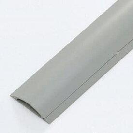 サンワサプライ ケーブルカバー ハードタイプ 幅70mm 長さ1m ケーブルガイド付 グレー CA-R70GY