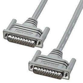 サンワサプライ RS-232Cケーブル モデム・TA・切替器用 ストレート全結線 D-sub25pinオス-D-sub25pinオス 非UL規格 3m KRS-001K2