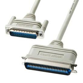 サンワサプライ SCSIシステムケーブル D-sub25pinオスインチネジ(4-40)-セントロニクス50pinオス 1m KB-SCM1K2