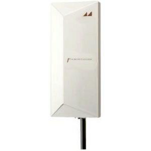 日本アンテナ 屋外用高性能薄型UHFアンテナ ブースター内蔵 中・弱電界地区向け 水平偏波専用 《エフプラスタイルシリーズ》 UDF105B