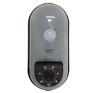 【PC、スマホエントリーで全品ポイント5倍】※14日20時-21日2時※ リーベックス SDカード録画式センサーカメラ CMOS-30万画素 電池式 センサーライト付 SD1000