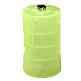 旭電機化成 単2が単1になる電池アダプター 2個入 ライトグリーン ADC-210LG