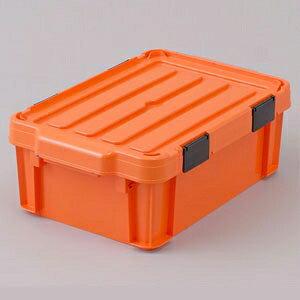 アイリスオーヤマ 密閉バックルコンテナ 職人の車載ラック専用 ボックスタイプ 幅44.7×奥行29.5×高さ16.2cm フタ付 MBR-13