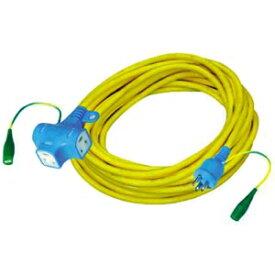 正和電工 抜け止め機能アース付ポッキンプラグ延長コード 3個口 10m NDPK-10