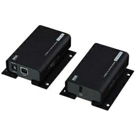 サンワサプライ USB2.0エクステンダー 最大100m延長 USB-EXSET1