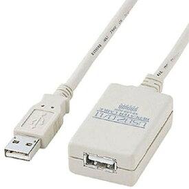 サンワサプライ USB2.0リピーター延長ケーブル USB2.0&USB1.1両対応 5m KB-USB-R205