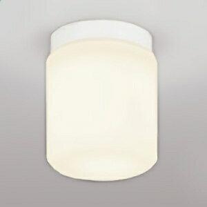 オーデリック LEDバスルームライト 白熱灯50W相当 直付けタイプ 防雨・防湿型 壁面・天井面・傾斜面取付兼用 電球色タイプ OW009153LD