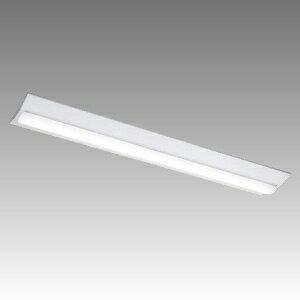 東芝 LEDベースライト 《TENQOOシリーズ》 40タイプ 直付形 W230 一般タイプ 5200lmタイプ Hf32形×2灯用定格出力形器具相当 昼白色 非調光タイプ LEKT423523N-LS9
