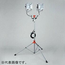 ハタヤ スタンド付ハロゲンライト 屋外用 500W耐振型ハロゲン灯×2灯 電線長5m PHCX-505N