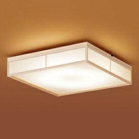 パナソニック LEDシーリングライト 和風タイプ 〜8畳用 天井直付型 調光・調色タイプ 昼光色〜電球色 リモコン付 LSEB8020K