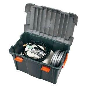 カクダイ スーパーミスト 屋外冷却噴霧システム 水道直結式 AC100V 間欠運転機能・電源コード5m付 576-300