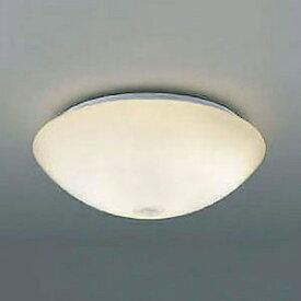 コイズミ照明 LED小型シーリングライト 内玄関用 白熱球100W相当 電球色 人感センサ付 AH41880L