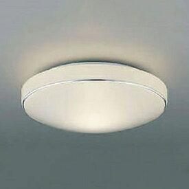 コイズミ照明 LED小型シーリングライト 内玄関用 白熱球60W相当 電球色 クロム AH41893L