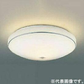 コイズミ照明 LED小型シーリングライト 内玄関用 FCL30W相当 電球色 人感センサ付 クロム AH43175L