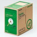 ELECOM LANケーブル ケーブルのみ CAT5E対応 レングスマーク付 環境配慮パッケージ 長さ100m オレンジ LD-CT2/DR100/RS