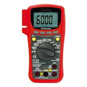 マザーツール PC対応デジタルマルチメータ 真の実効値測定(AC+DC) 多機能6000カウントバーグラフ付 DT9602R+