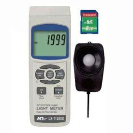 マザーツール デジタル照度計 SDスロット搭載 データロガ機能付 測定範囲0〜100000Lux LX-1128SD