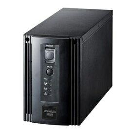サンワサプライ 小型無停電電源装置 500VA/350W 単相2線 オフライン方式 UPS-500UXN
