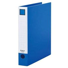 キングジム レバーリングファイル A4タテ型 内径36mm 2穴 紙寄せ2枚付 青 6673アオ