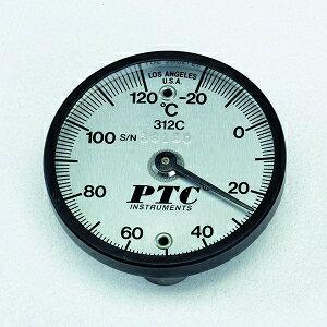 タスコ スタンダードマグネット付表面温度計 -20〜+120℃ マグネット2個付 TA409-120