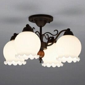 山田照明 LEDシャンデリア 〜4.5畳向け E26 LED電球 9.1W×4 電球色 CD-4289-L