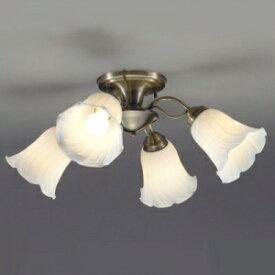 山田照明 LEDシャンデリア 〜4.5畳向け E26 LED電球 9.1W×4 電球色 CD-4292-L