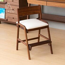 学習チェア ウォールナット ダイニングチェア イス 小学生 学習 高さ調整 木 姿勢 キャスターなし 一生紀 フィオーレ シンプル おすすめ 北欧 子供用椅子 送料無料 FIORE-WALNUT DESK CHAIR - ISSEIKI 101-00610[キャッシュレス還元]