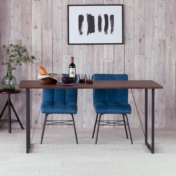 【エントリーでP21倍!12/1920時〜】テーブルダイニングテーブル食卓2人掛けスチール木製シンプルモダンインダストリアル幅80おしゃれ送料無料LITTLEDININGTABLE80(AC-MBR)-ISSEIKI101-02112