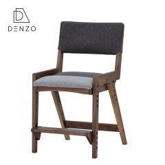 デスクチェア学習チェア椅子おしゃれ北欧モダンシンプルキッズ子供ミディアムブラウンオークグレー天然木木製組み立て送料無料SOLANADESKCHAIR(WO-MBR-T0015DGY)-ISSEIKI101-02470