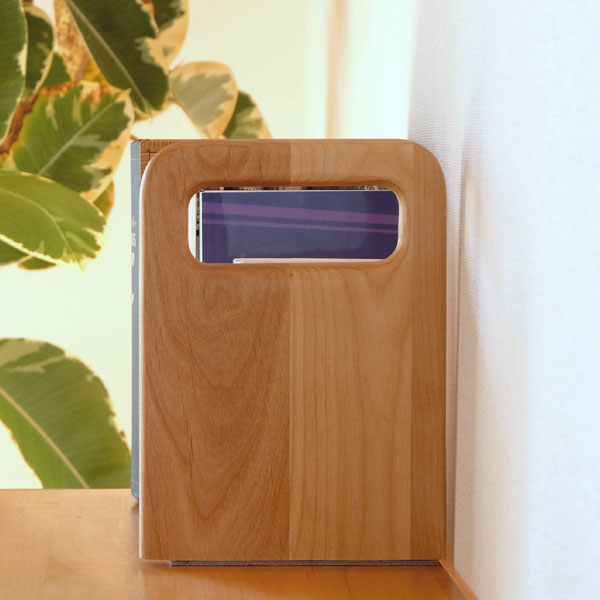 ブックスタンド本立て木製おしゃれナチュラルモダンカントリー+COROBOOKEND16-コロブックエンド16-[ISSEIKI一生紀200162]