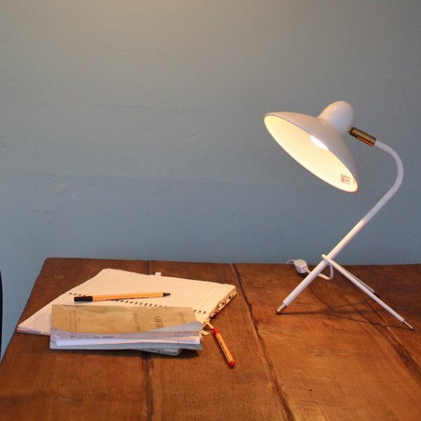 テーブルライトデスクライトデスクランプ卓上ライト卓上ランプおしゃれ照明間接照明スチール40WE-17白熱レフ球LED電球使用可スイッチ付重さ0.6kgテレワークリモート書斎リビング寝室送料無料Arlesdesklamp222-00004