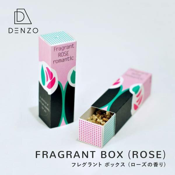 ローズ サシェ ポプリ ルームフレグランス ローズの香り 室内用芳香剤 1個 単品 D-BROS FRAGRANT BOX (ROSE) フレグラントボックス (ローズ)
